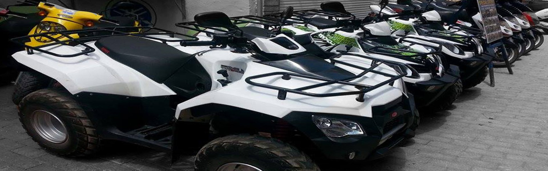 RENT A MOTO ATV QUAD THASSOS POTOS